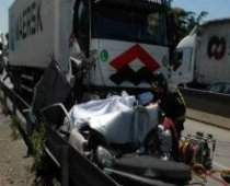Incidente mortale via Pontina