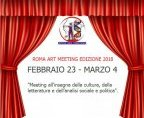 ROMA ART MEETING - ANNO 2018